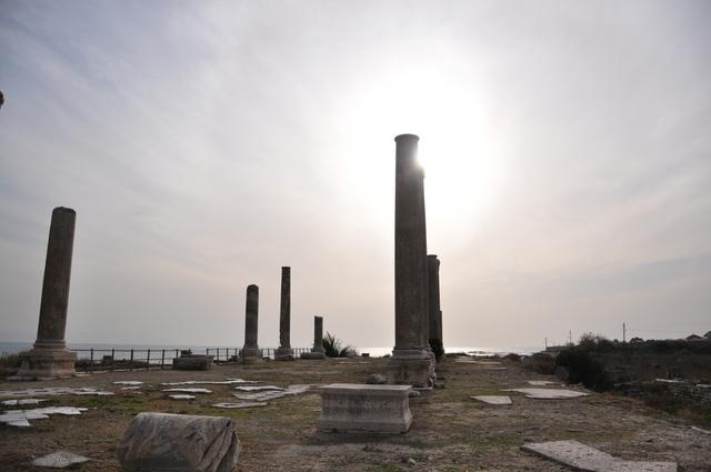 Roman ruins of Tyr. Beautiful