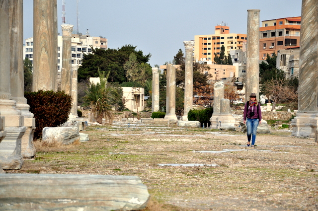 Tyr and it's Roman ruins